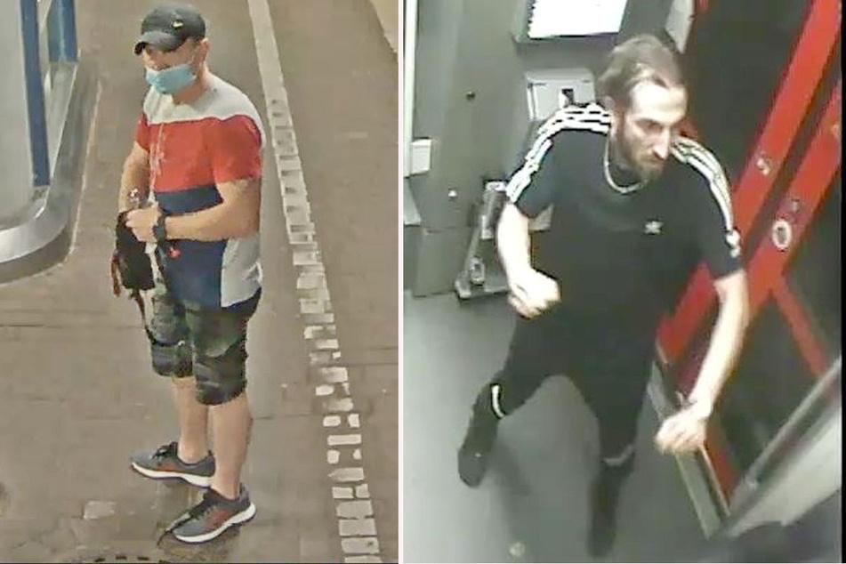 Die beiden Männer sollen einen 24-Jährigen in einer Regionalbahn nach Köln überfallen haben. (Fotomontage)