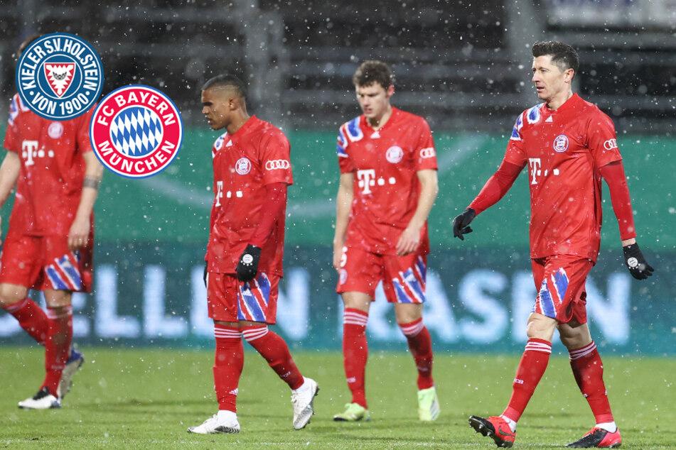 Bayern-Blamage im DFB-Pokal! Rekordmeister fliegt gegen Holstein Kiel raus