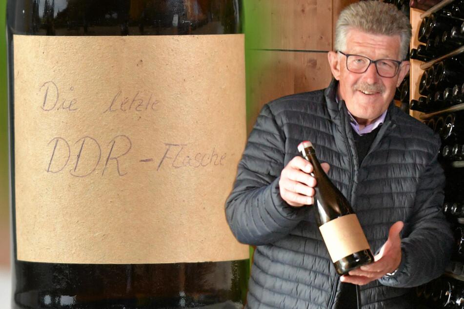 Dresden: Früher 15 Mark wert, jetzt eine echte Rarität: Kellermeister findet die letzte Flasche DDR-Sekt