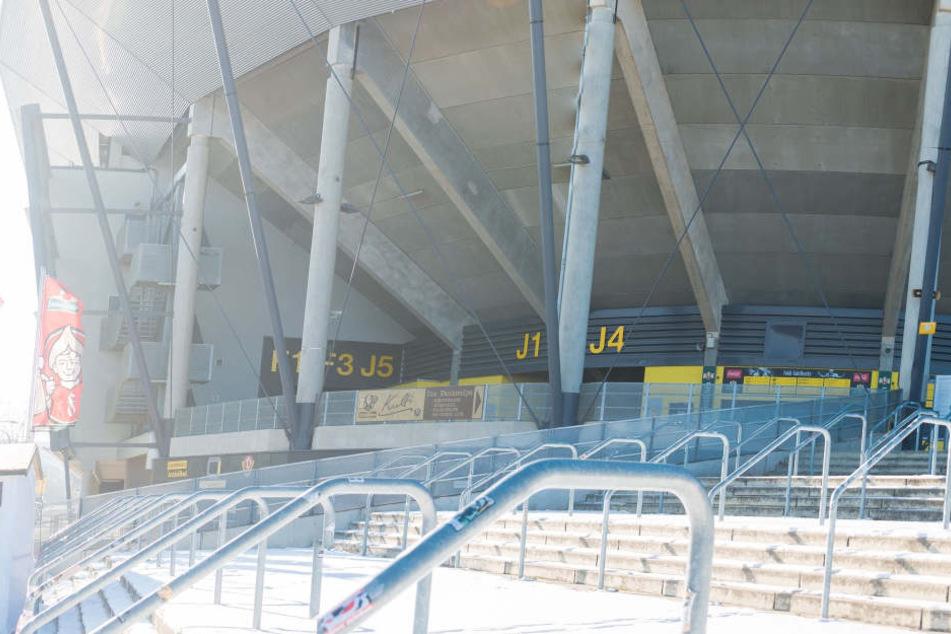 Im DDV-Stadion steigt am Sonntag das Sachsen-Derby.