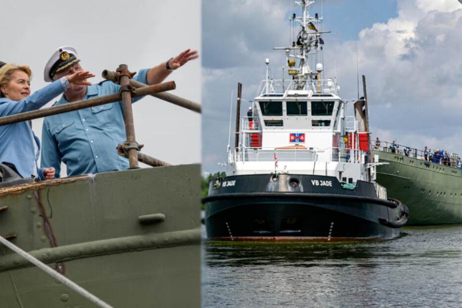 """Segelschulschiff """"Gorch Fock"""" soll bis 2020 fertig gebaut werden"""