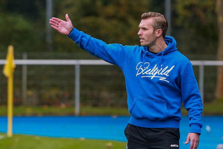 Am Samstag besiegte Carsten Rump in seiner eigentlichen Funktion als Arminias U-19-Trainer den 1. FC Köln mit 2:0.