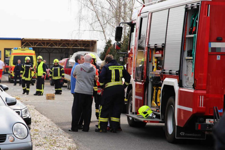 Zwei Personen wurden bei dem Vorfall verletzt.