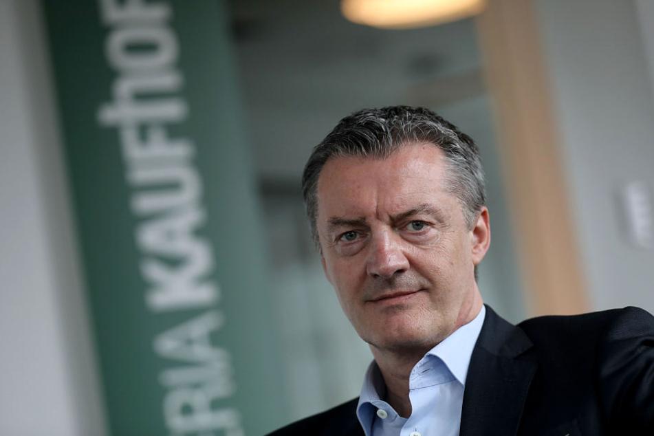 Roland Neuwald (53) ist Vorsitzender der Geschäftsführung der Warenhauskette Galeria Kaufhof.