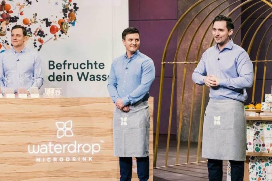 Das Start-Up Waterdrop bekam von Dümmel den Zuschlag.