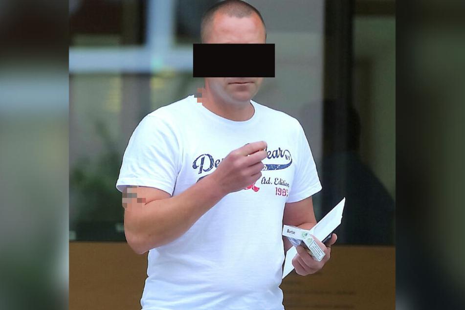 Claus K. (46) kassierte am Amtsgericht eine Strafe und ist seinen Führerschein vorerst los.
