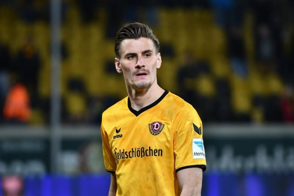 Dieses Gesicht sprach Bände. Stefan Kutschke war nach der Nullnummer gegen Karlsruhe mächtig angefressen.