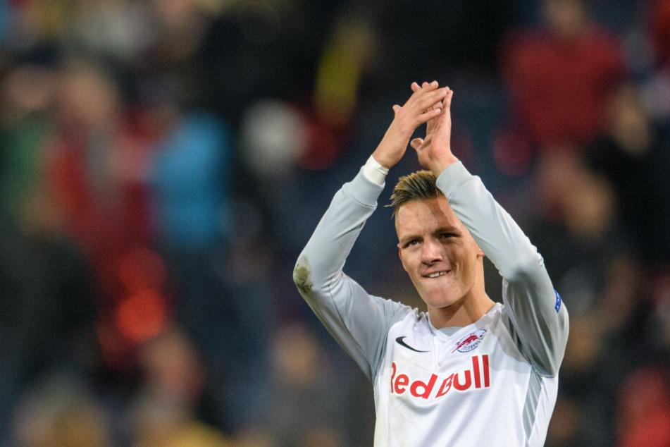 Hannes Wolf (19) wird der 18. Spieler sein, der den Weg von Salzburg nach Leipzig wählt.