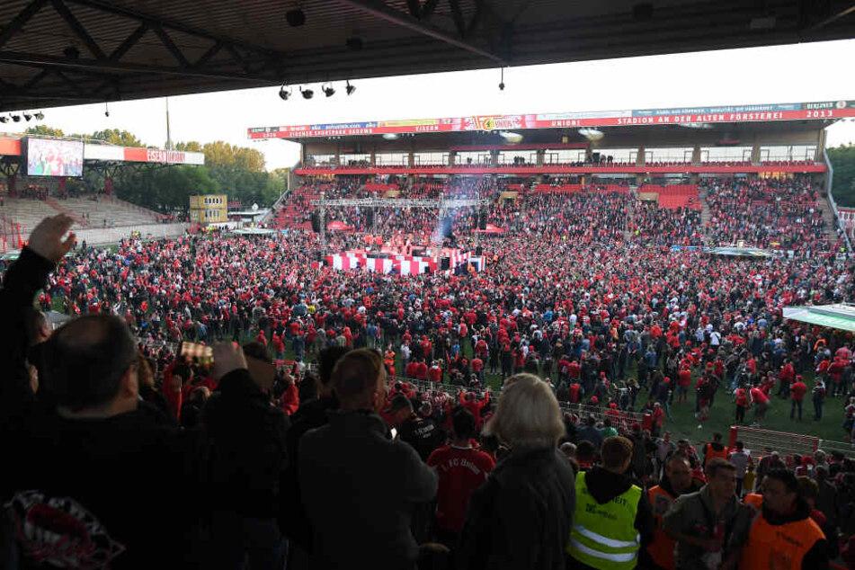 Der 1. FC Union feierte erst kürzlich den Aufstieg in die Bundesliga.