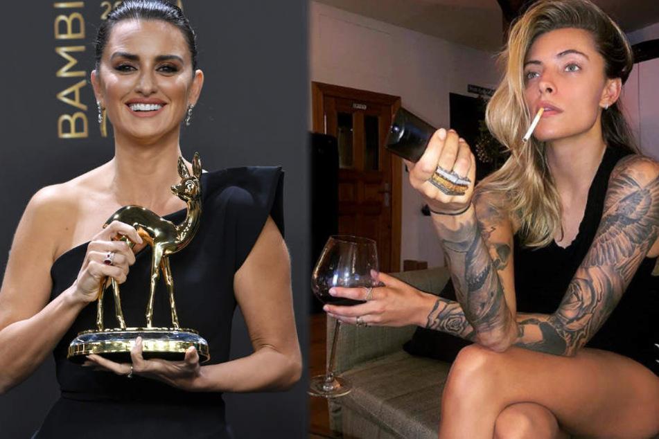 Mit Kippe und Rotwein aufm Sofa: Sophia Thomalla pfeift auf Bambi-Verleihung