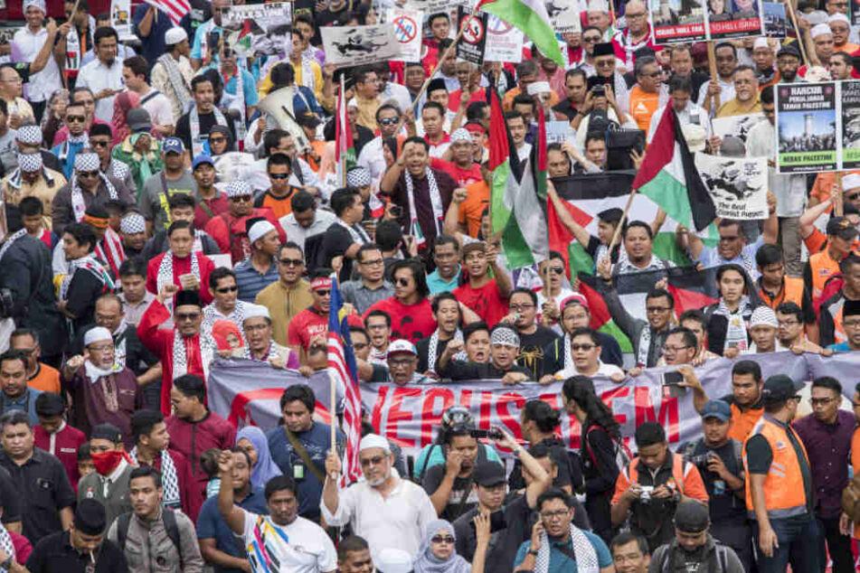 So lief die Jerusalem-Demo in Frankfurt