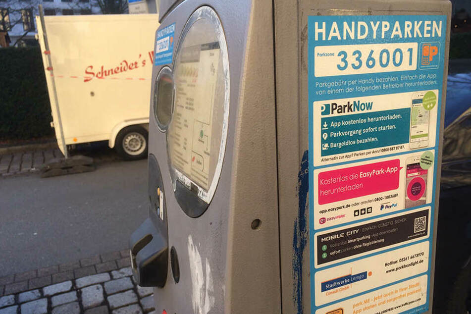 In Bielefeld gibt es mehrere Anbieter für das Handyparken.