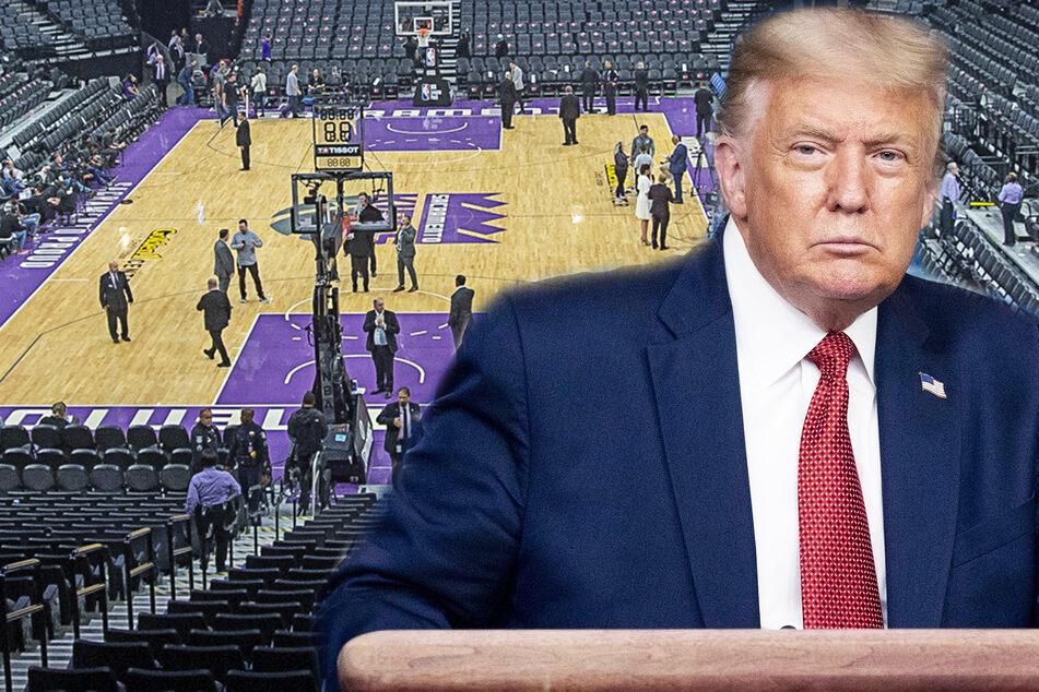 """Der traut sich was! Donald Trump bezeichnet NBA-Basketballer als """"sehr dumm"""""""