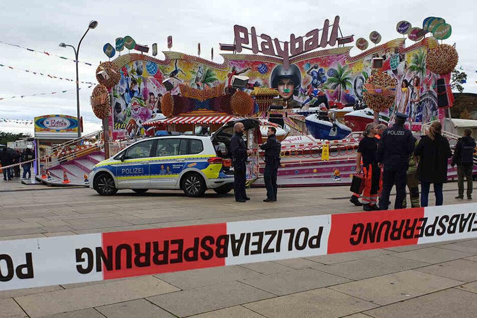 Nach tödlichem Karussell-Unfall: Polizei ermittelt