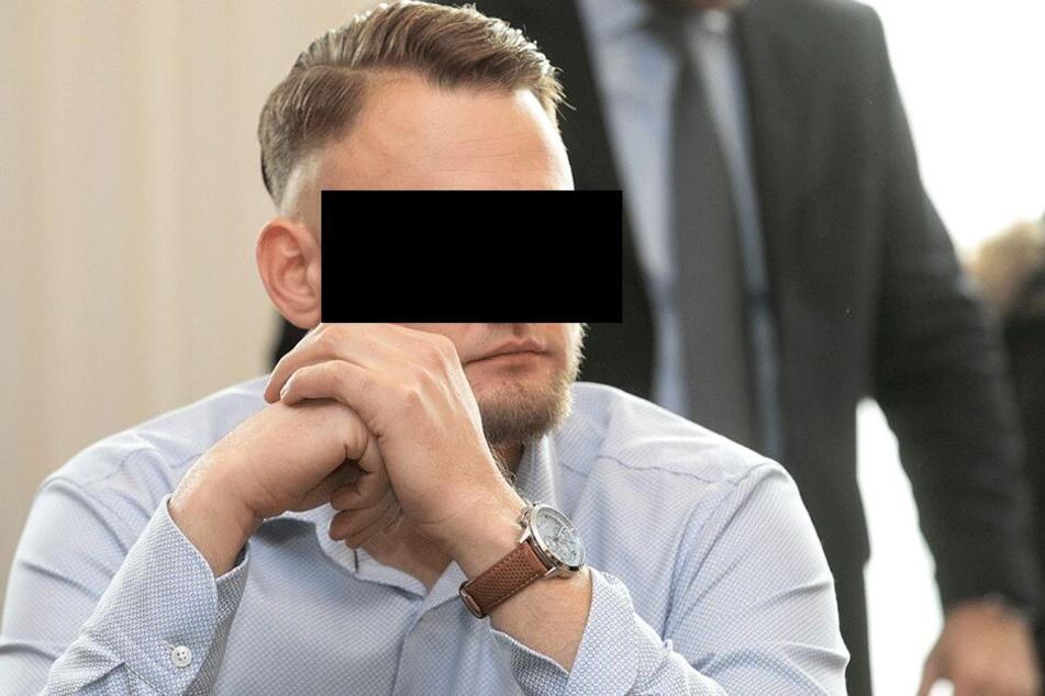 Christian L. (29) im November vor Gericht.