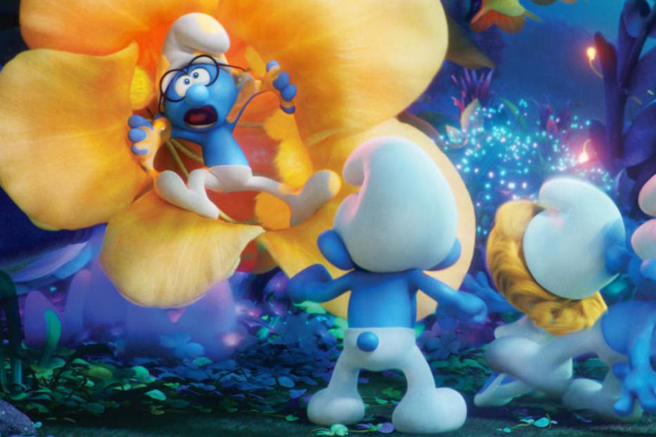 Wie im Kinofilm der Schlümpfe soll auch die neue Serie 3D-animiert sein.