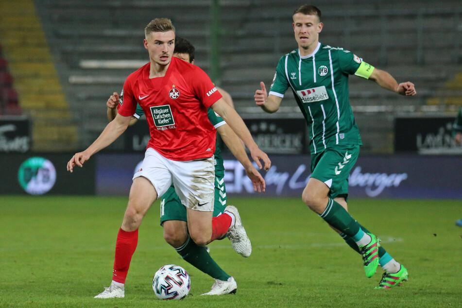 Pech für den FSVF, aber Elias Huth (23, l.) wird wohl nicht aus Kaiserslautern zurückkehren.
