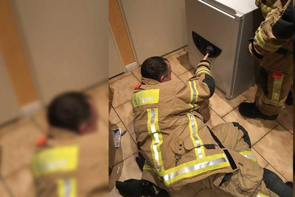 Feuerwehr muss helfen: Kind in Tresor eingesperrt