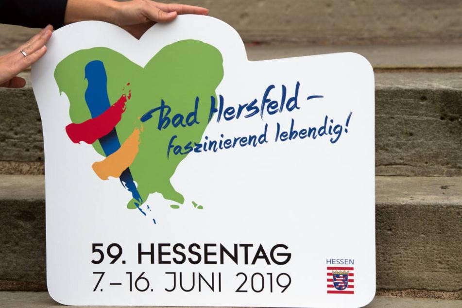 So sieht das Logo des diesjährigen Hessentages in Bad Hersfeld aus.