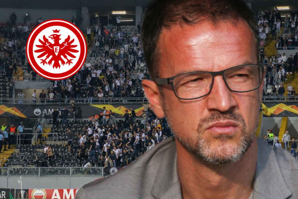 Ausschreitungen bei Europa-League-Spiel! Jetzt meldet sich Eintracht-Vorstand Bobic