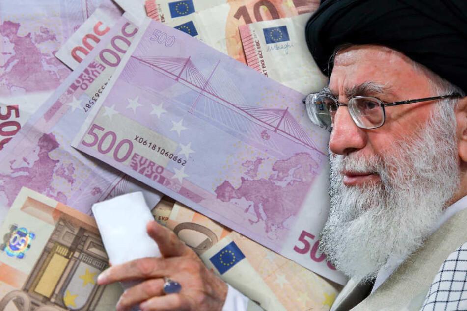 Ajatollah Ali Chamenei Oberster Führer des Iran kämpft um iranisches Geld im Ausland