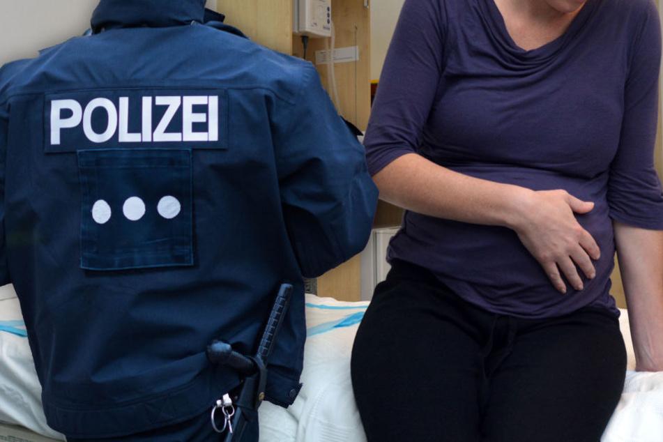 Geht das zu weit? Polizei holt Schwangere aus Krankenbett, um sie abzuschieben