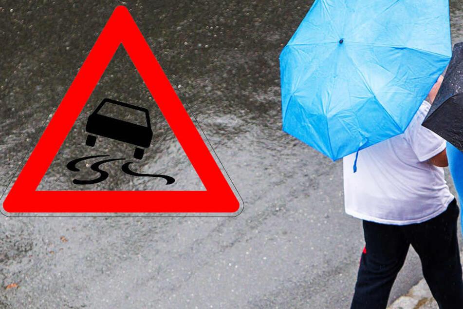 Bis zum Berufsverkehr am Freitag früh kann es gefährlich glatt werden!