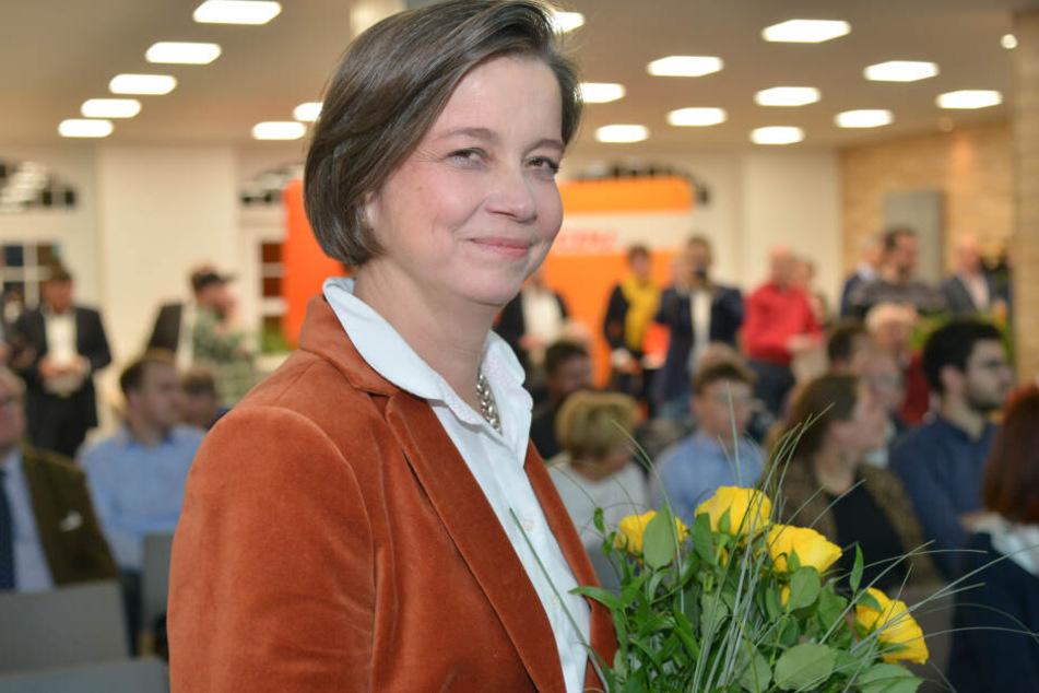 Almut Patt (51) geht für die CDU ins OB-Rennen.