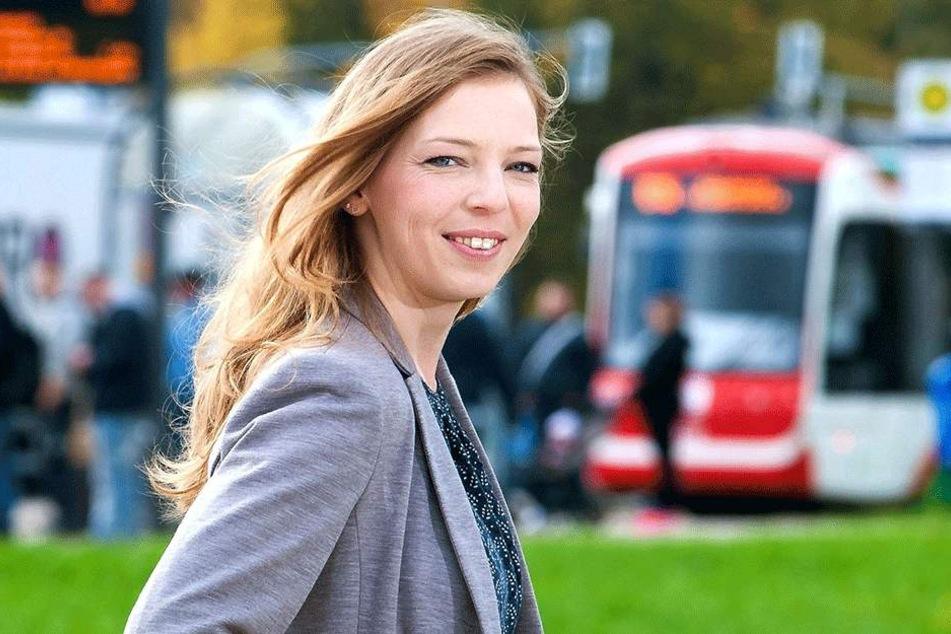 VMS-Sprecherin Jeanette Kiesinger (33) verweist auf die Pflichten der Fahrgäste, für ein gültiges Ticket zu sorgen.