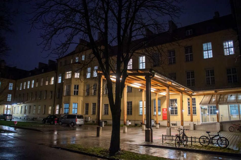 Blick auf die Notaufnahme des Klinikums Schwabing in München.