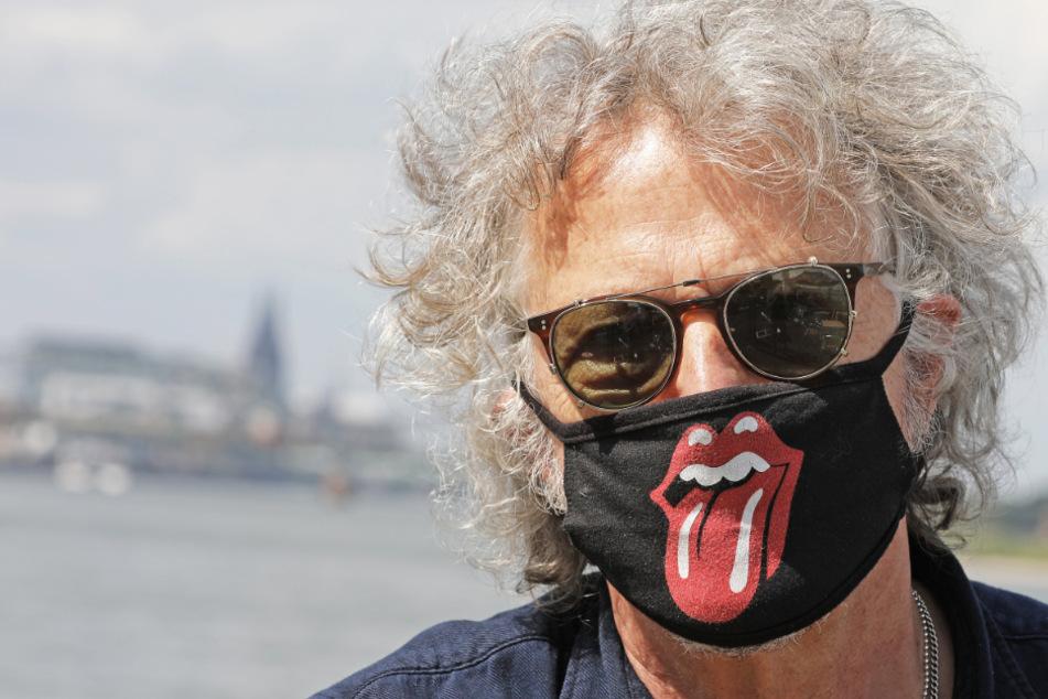 Promi hinter Rolling-Stones-Maske fordert mehr Corona-Geduld