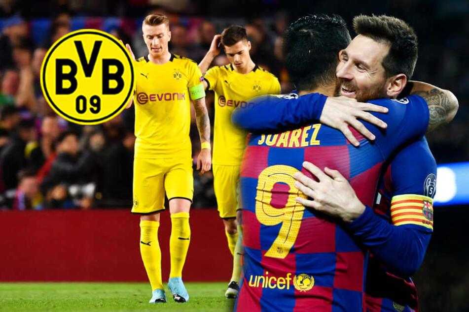 Lionel Messi zu stark für den BVB! Barca-Star erlegt Dortmund im Alleingang