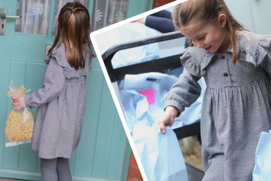 Zum 5. Geburtstag: Prinzessin Charlotte liefert Essen aus!