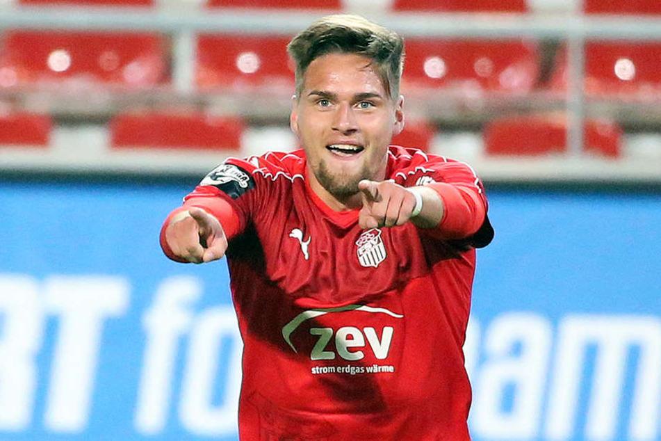 Jonas Nietfeld besorgte mit seinem Treffer zum 4:0 den Endstand.
