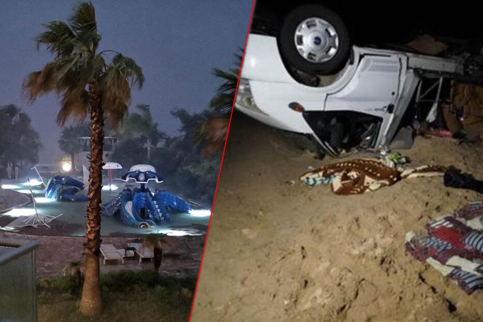 Touristen und Kinder sterben bei schwerem Unwetter in Griechenland
