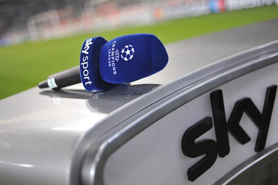 Auf dem Pay-TV-Sender Sky läuft neben der 1. und 2. Bundesliga auch die UEFA Champions League (Symbolbild).