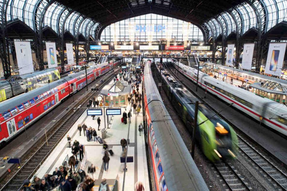 Der Hamburger Hauptbahnhof ist am Limit. Mehr Fahrgäste zur Hauptverkehrszeit sind kaum zu verkraften (Archivbild).