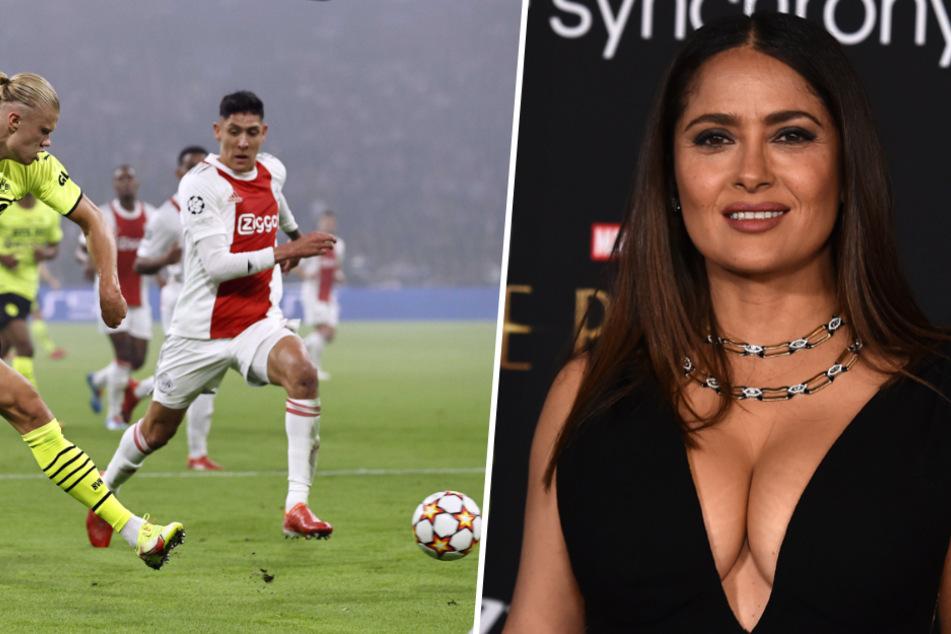 Verführerisches Angebot: Diesen Ajax-Star wollte Salma Hayek nach Frankreich locken