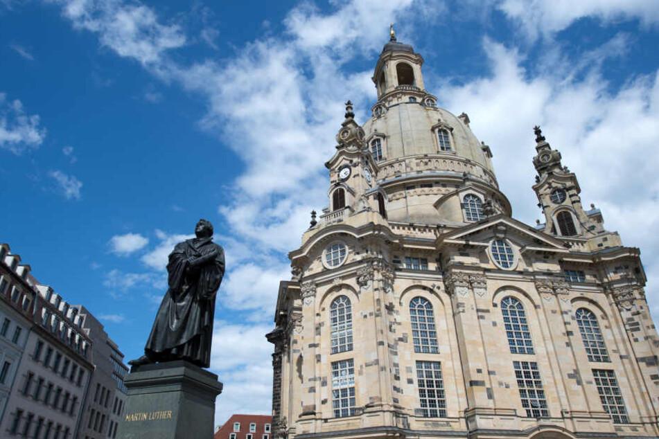 Die Dresdner Frauenkirche bleibt diese Woche geschlossen.