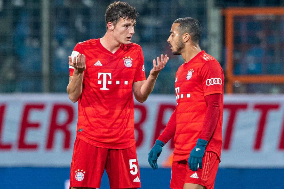 Die Spieler des FC Bayern München wirkten zuletzt hin und wieder selbst ratlos.