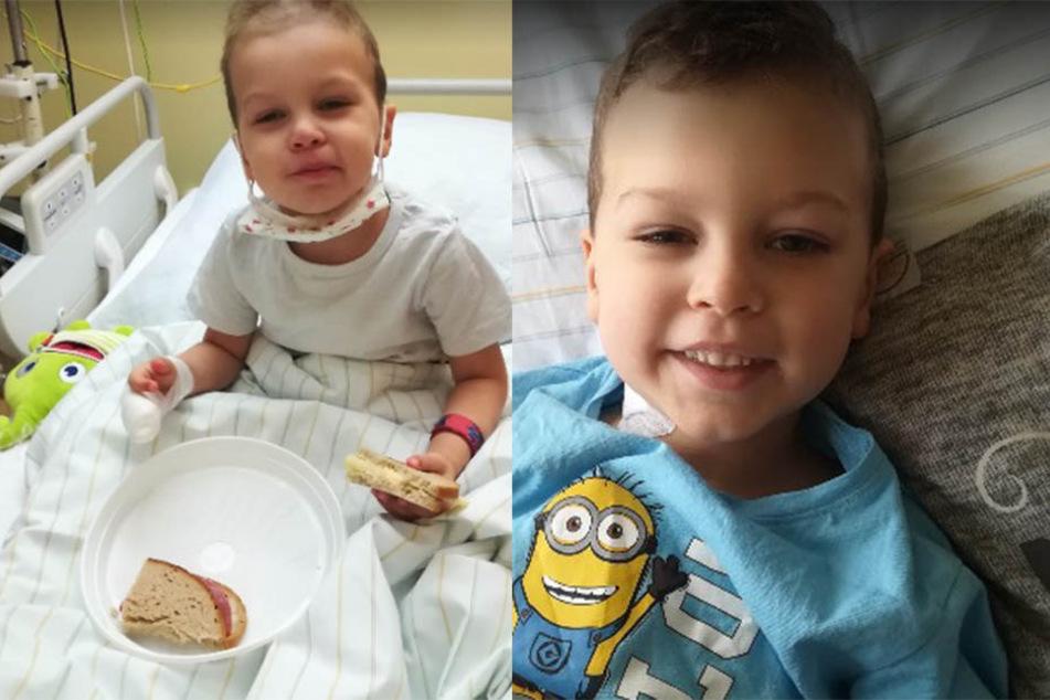 Kleiner Brian (3) ist schwer krank und hat nur einen Weihnachtswunsch