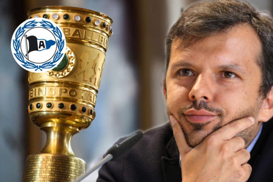 Nach DFB-Pokal-Auslosung: Samir Arabi sieht DSC als klaren Favoriten