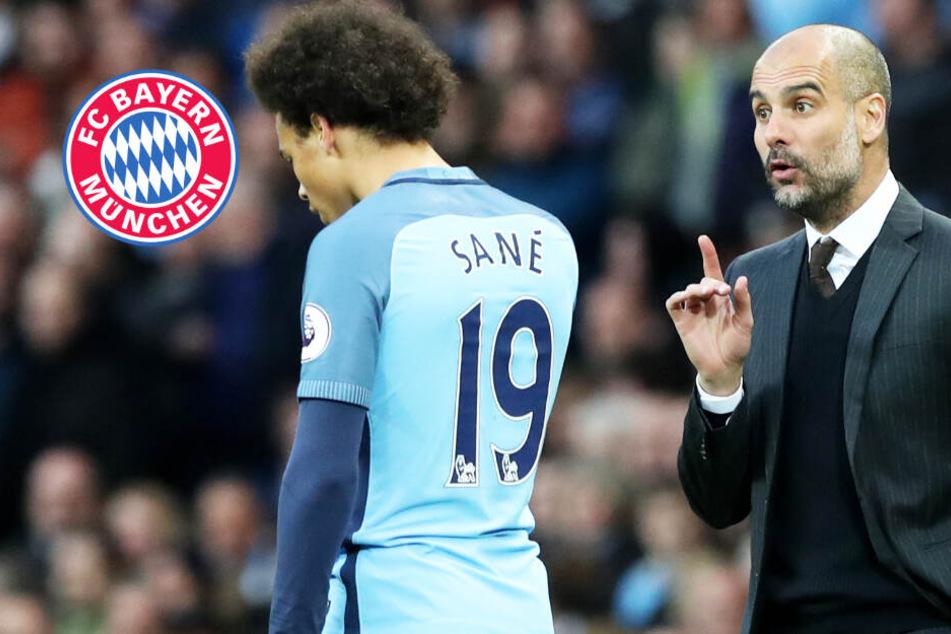 Leroy Sané schon im Winter zum FC Bayern München? Pep Guardiola hat andere Pläne