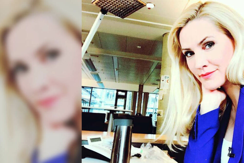 Als tagesschau-Moderatorin Judith Rakers dieses Selfie postet, sorgen sich ihre Fans