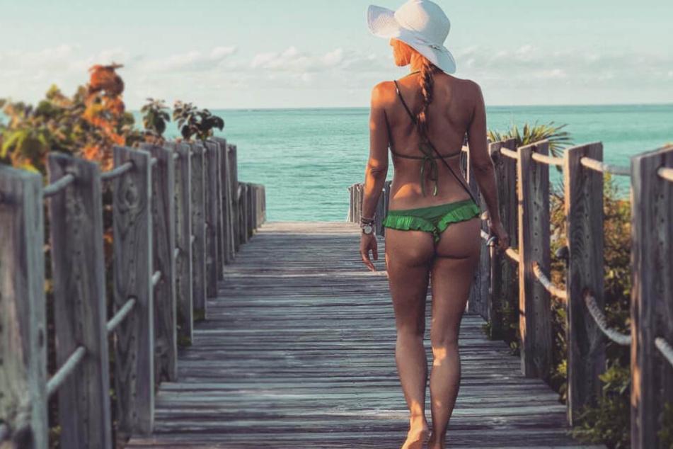 So sexy zeigt sich Annemarie Carpendale auf Instagram.