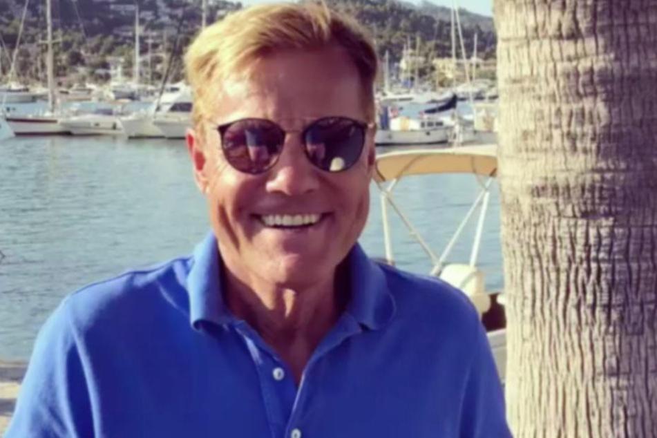 Dieter zeigt sich seinen Fans täglich von Mallorca.