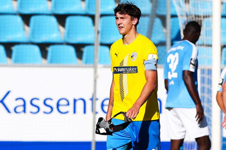 Für den FC Carl Zeiss Jena und Dominic Volkmer sieht es nach nur einem Punkt aus zehn Spielen schlecht aus.