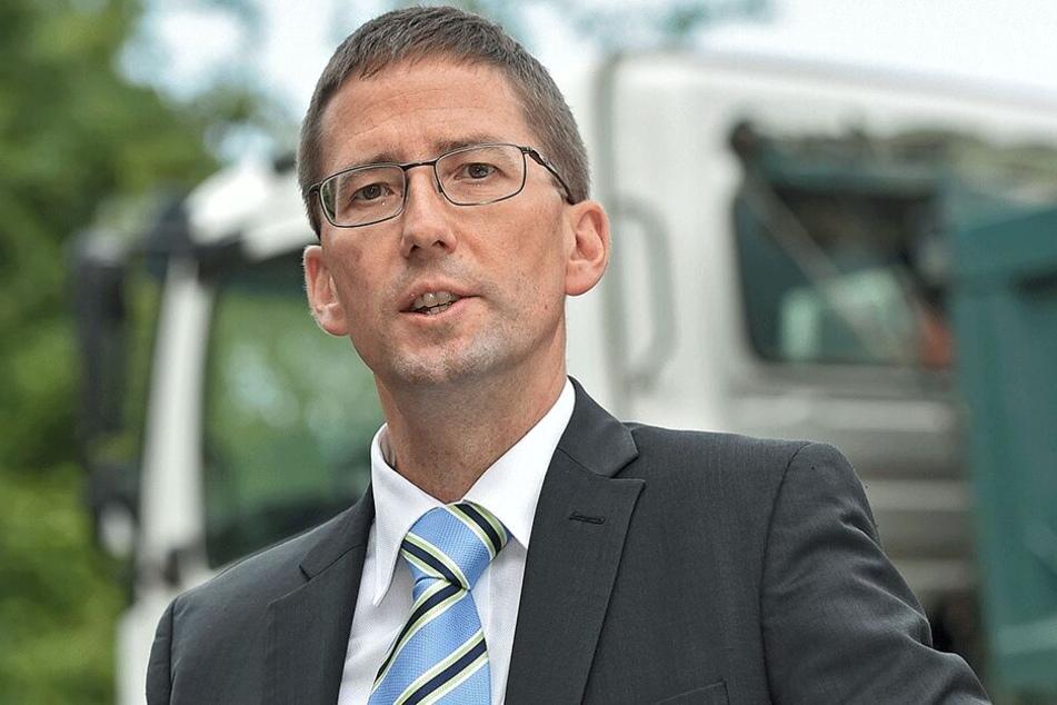 Musste laut Stadt den Planungsstopp anweisen: WiD-Chef Steffen Jäckel (49).