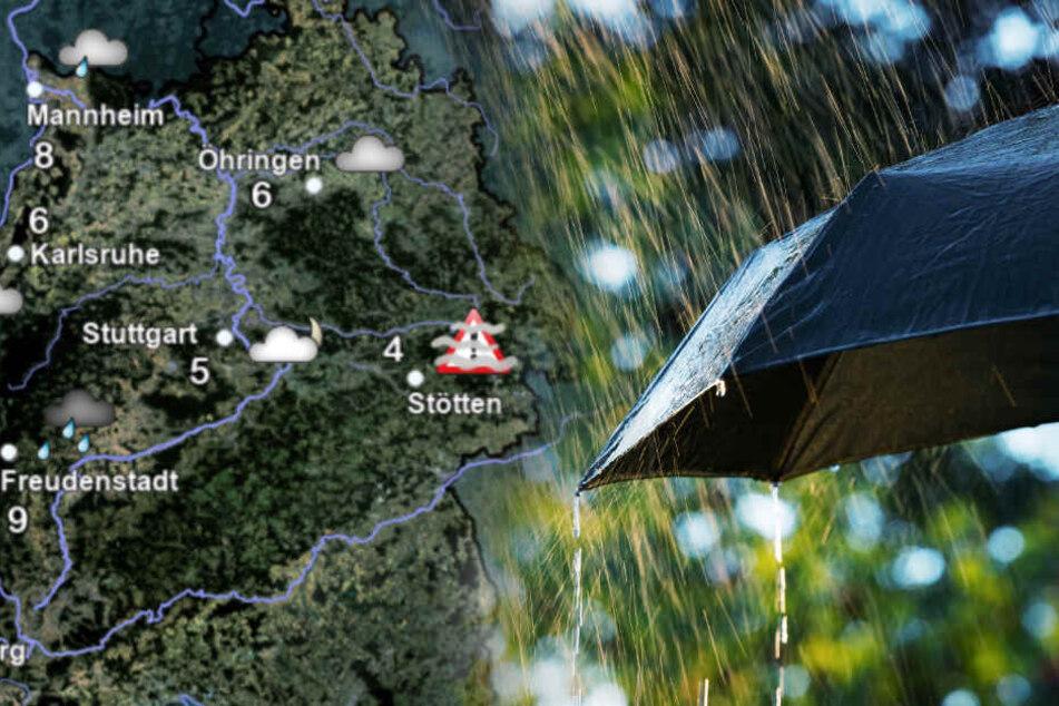 Wetter im Ländle: Hier soll es richtig stürmisch werden