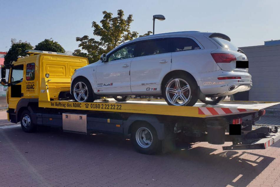 Die Polizei hat den 35.000 Euro teuren wagen beschlagnahmt.